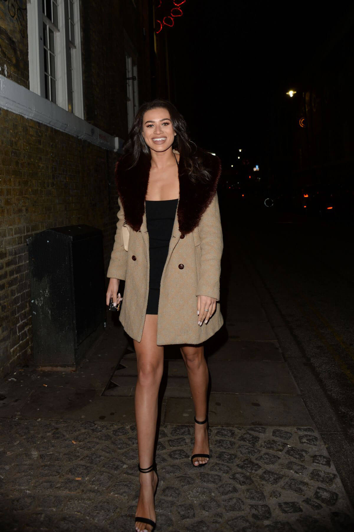 Montana Brown Stills at Notion Magazine Issue 78 Launch Party in London 2017/12/19