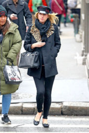 Nicky Hilton Stills Out and About in New York 2017/12/12