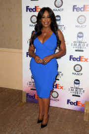 Niecy Nash Stills at 49th Naacp Image Awards Nominees Luncheon in Beverly Hills 2017/12/16