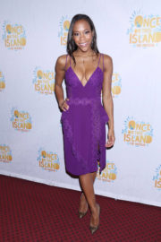 Nikki M. James Stills at Once on This Island Broadway Openingh Night in New York 2017/12/03