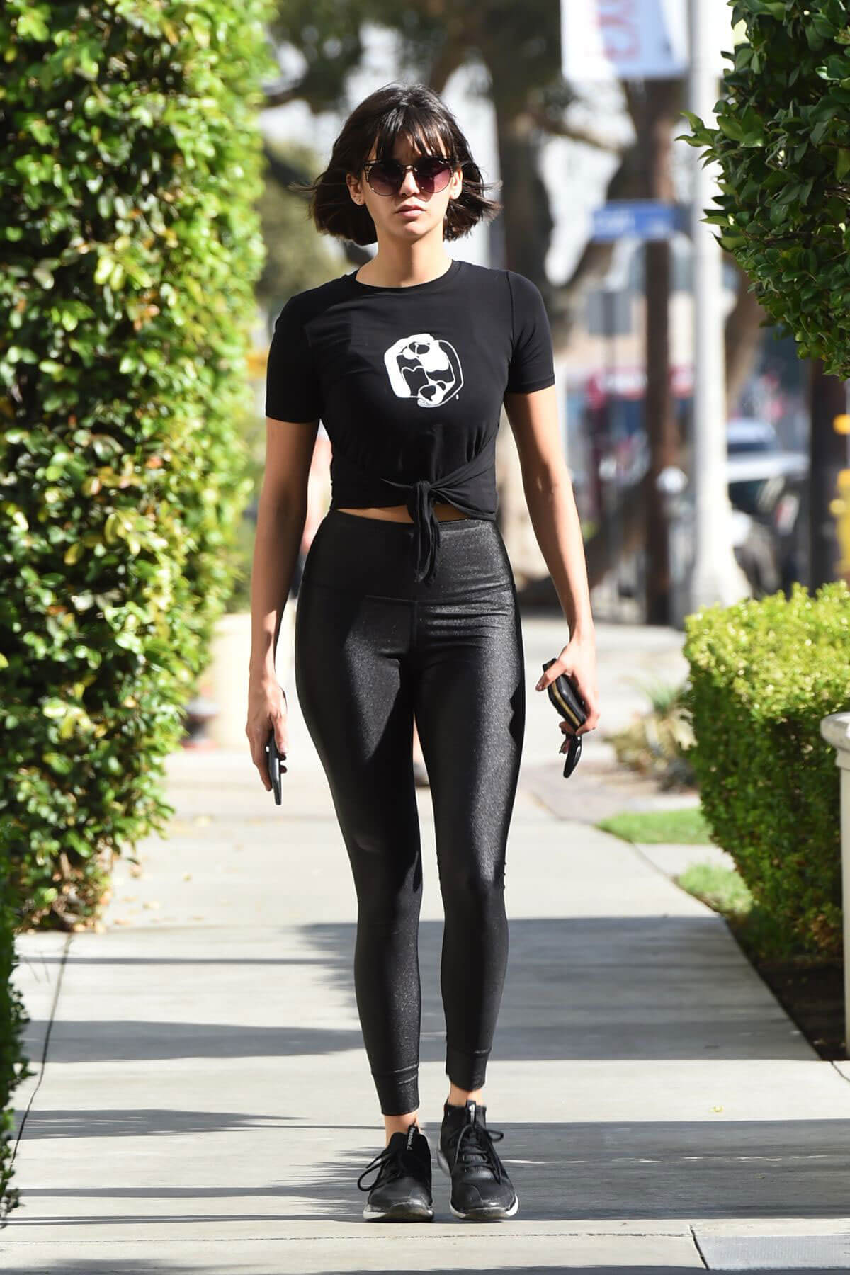 Nina Dobrev Stills Out and About in West Hollywood 2017/11/20