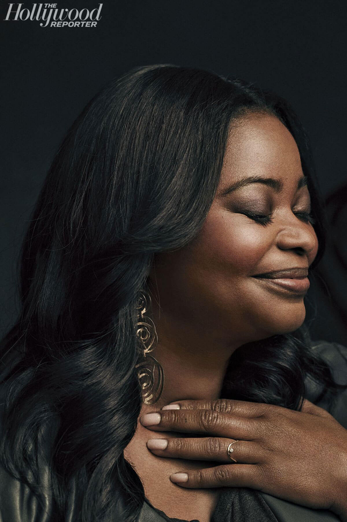 Octavia Spencer Poses for The Hollywood Reporter's Live Roundtable, December 2017