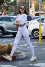 Olivia Culpo Stills Shopping for Groceries at Whole Foods in Los Angeles 2017/12/26