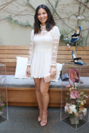 Olivia Munn Stills at Women with Sole Luncheon in Los Angeles 2017/12/01