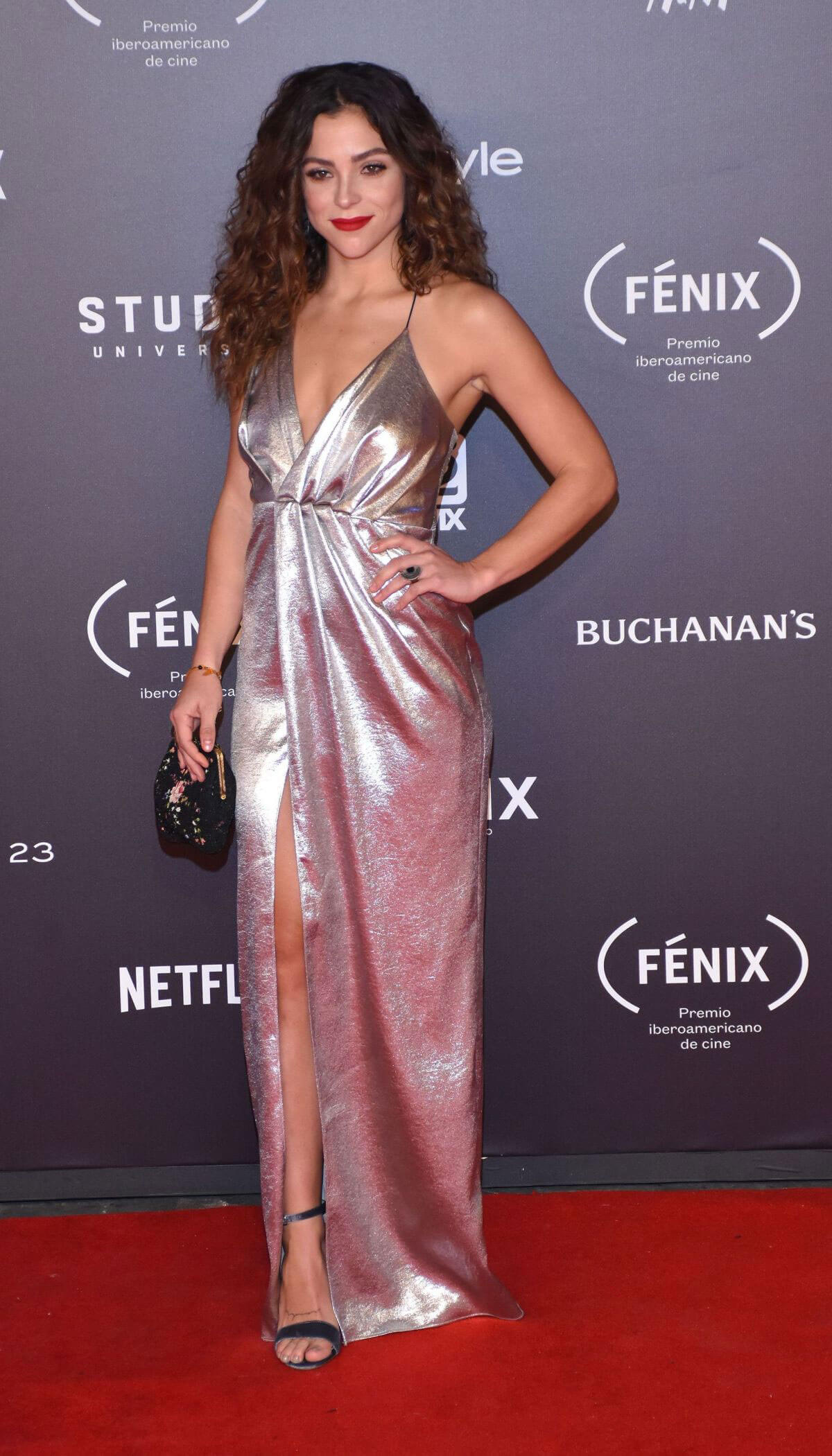 Paulina Davila Stills at Fenix Film Awards in Mexico City 2017/12/06
