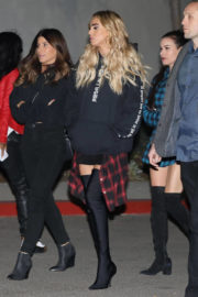 Petra Ecclestone Stills at Jay-Z's Show at Forum in Inglewood 2017/12/21