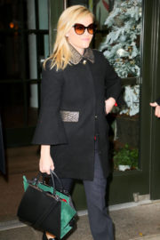 Reese Witherspoon Stills Leaves Her Hotel in New York Images