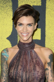 Ruby Rose Stills at Pitch Perfect 3 Premiere in Hollywood 2017/12/12