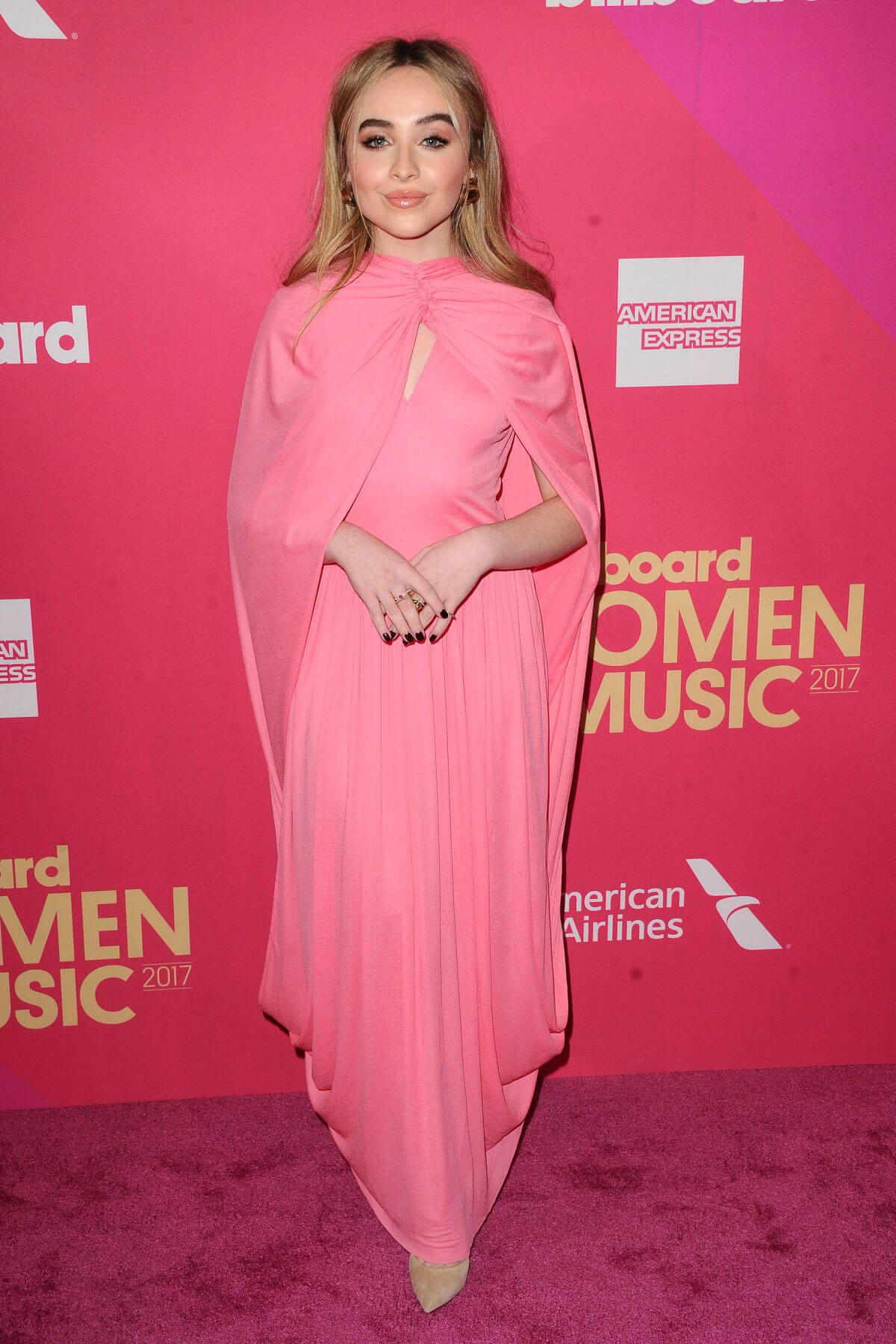 Sabrina Carpenter Stills at 2017 Billboard Women in Music Awards in Los Angeles
