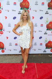 Samantha Jade Stills at Woolworths Carols in the Domain Pre-show VIP Party in Sydney 2017/12/17