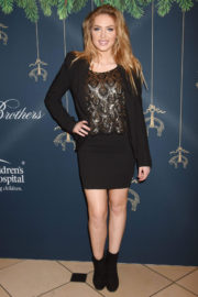 Saxon Sharbino Stills at Brooks Brothers Holiday Celebration with St Jude Children's Research Hospital