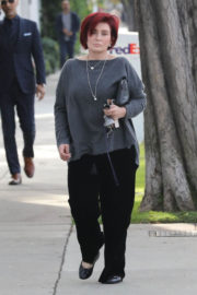 Sharon Osbourne Stills Out Shopping in West Hollywood 2017/12/18