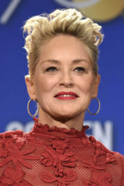 Sharon Stone Stills at 75th Annual Golden Globe Awards Nomination Announcement in Beverly Hills 2017/12/11