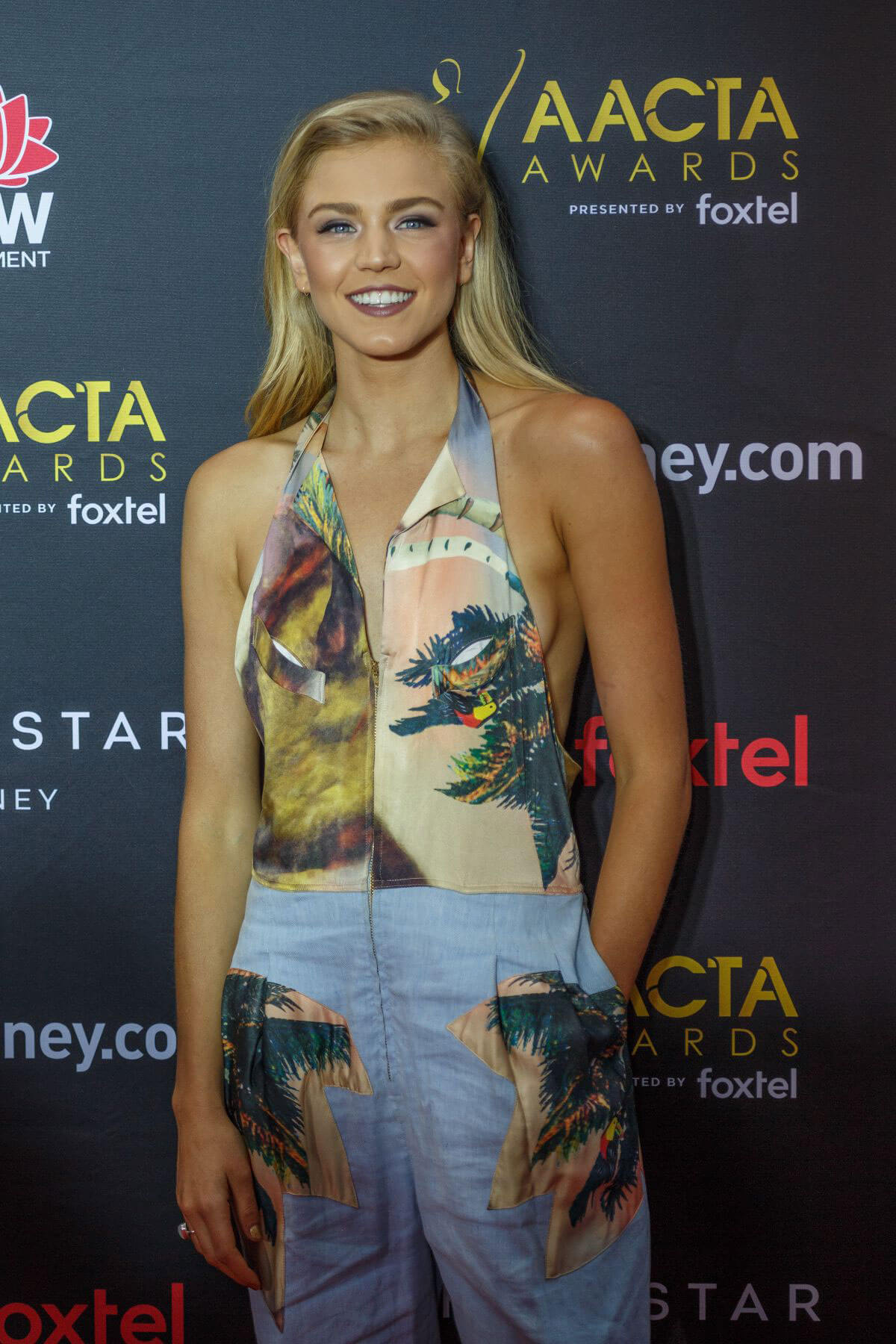 Sophia Forrest Stills at 2017 AACTA Awards in Sydney 2017/12/06