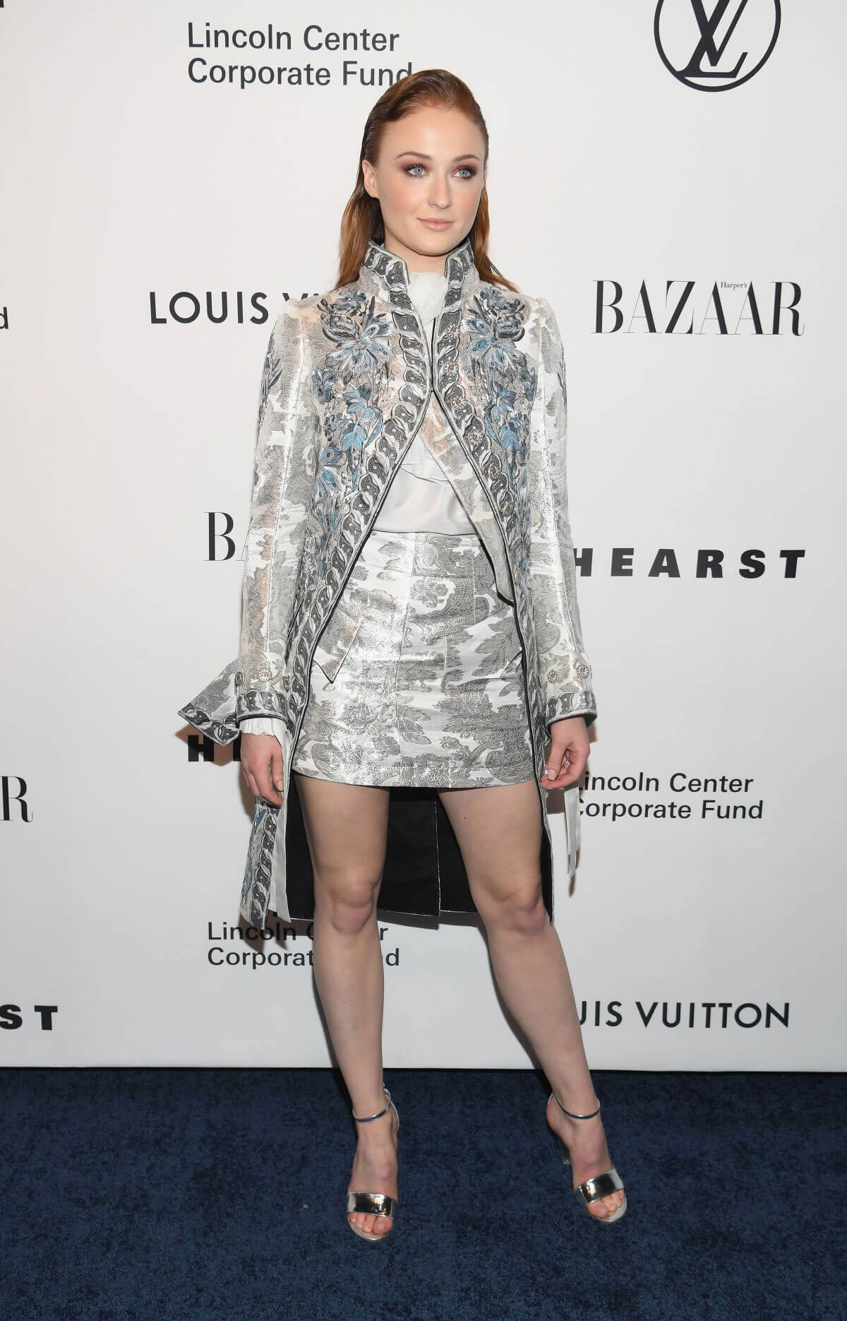 Sophie Turner Stills at An Evening Honoring Louis Vuitton and Nicolas Ghesquiere