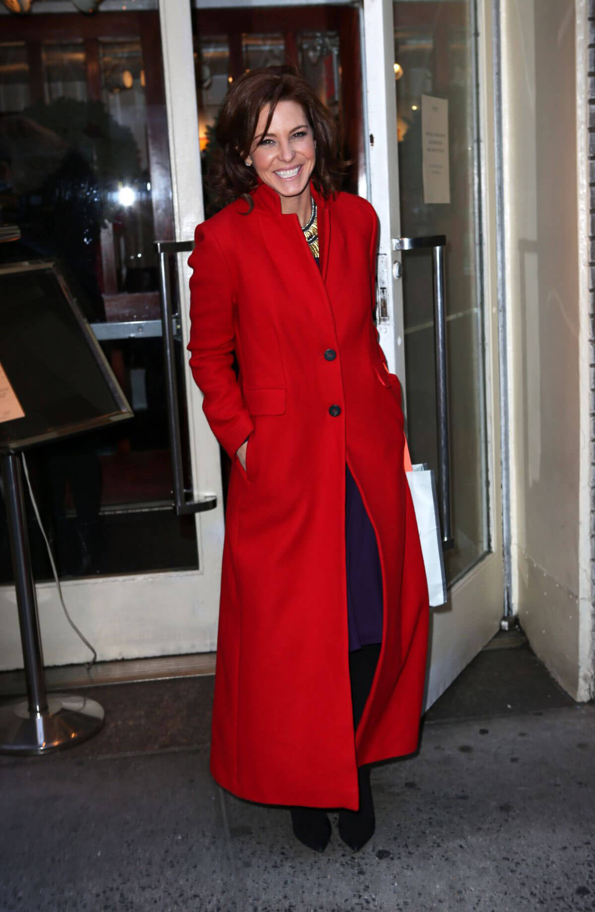 Stephanie Ruhle Stills at Cosmo's 100 Most Powerful Women Luncheon in New York 2017/12/11