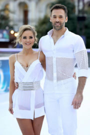 Stephanie Waring Stills at Dancing on Ice Photocall in London 2017/12/19