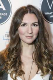 Summer Strallen Stills at 2018 WhatsOnStage Awards Nominations Party in London