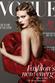 Taylor Swift Stills Covers 'British Vogue' January 2018 Issue