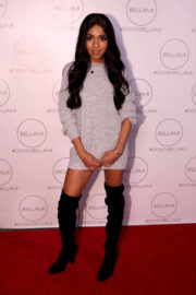 Teala Dunn Stills at Dove x Bellami Collection Launch Party in Culver City 2017/12/02
