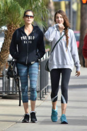 Teri Hatcher and Emerson Tenney Stills Heading to a Gym in Los Angeles 2017/12/20