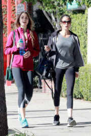 Teri Hatcher and Emerson Tenney Stills Heading to a Gym in Studio City 2017/12/22