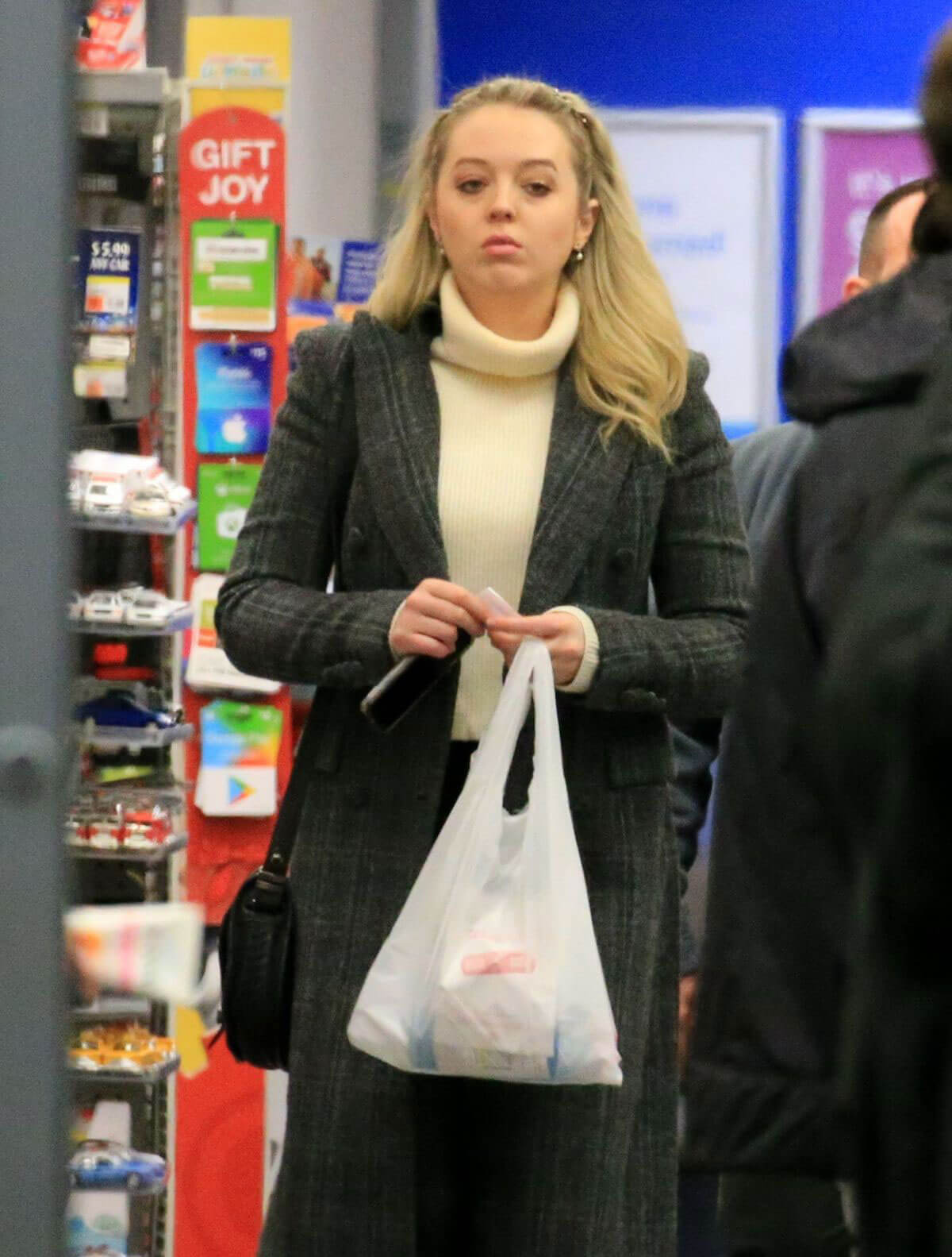 Tiffany Trump Stills Out for Dinner in New York 2017/12/18