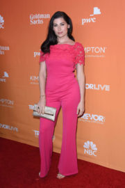 Trace Lysette Stills at Trevor Project's 2017 Trevorlive Gala in Los Angeles 2017/12/03