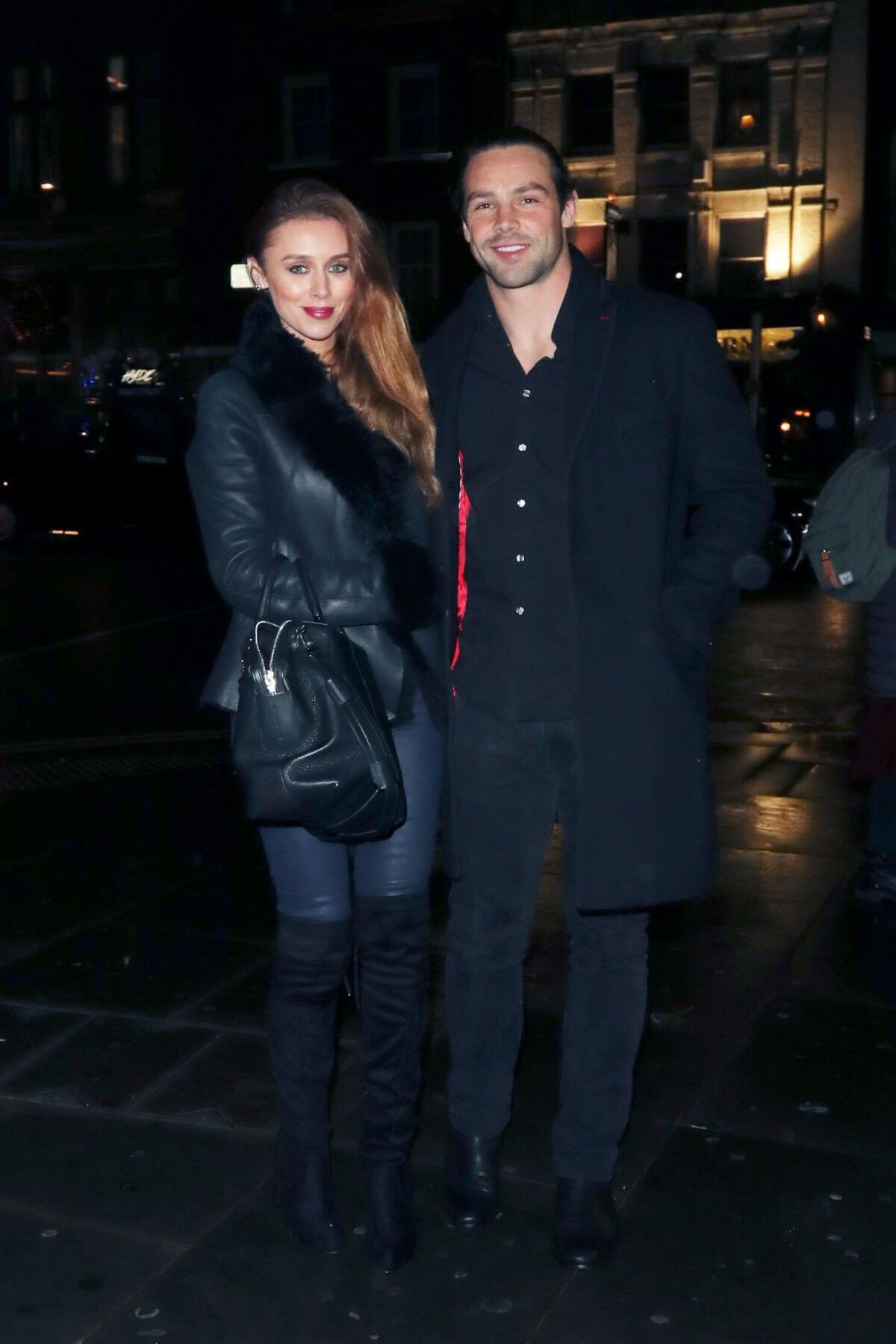 Una Healy and Ben Foden Stills at Mahiki in London