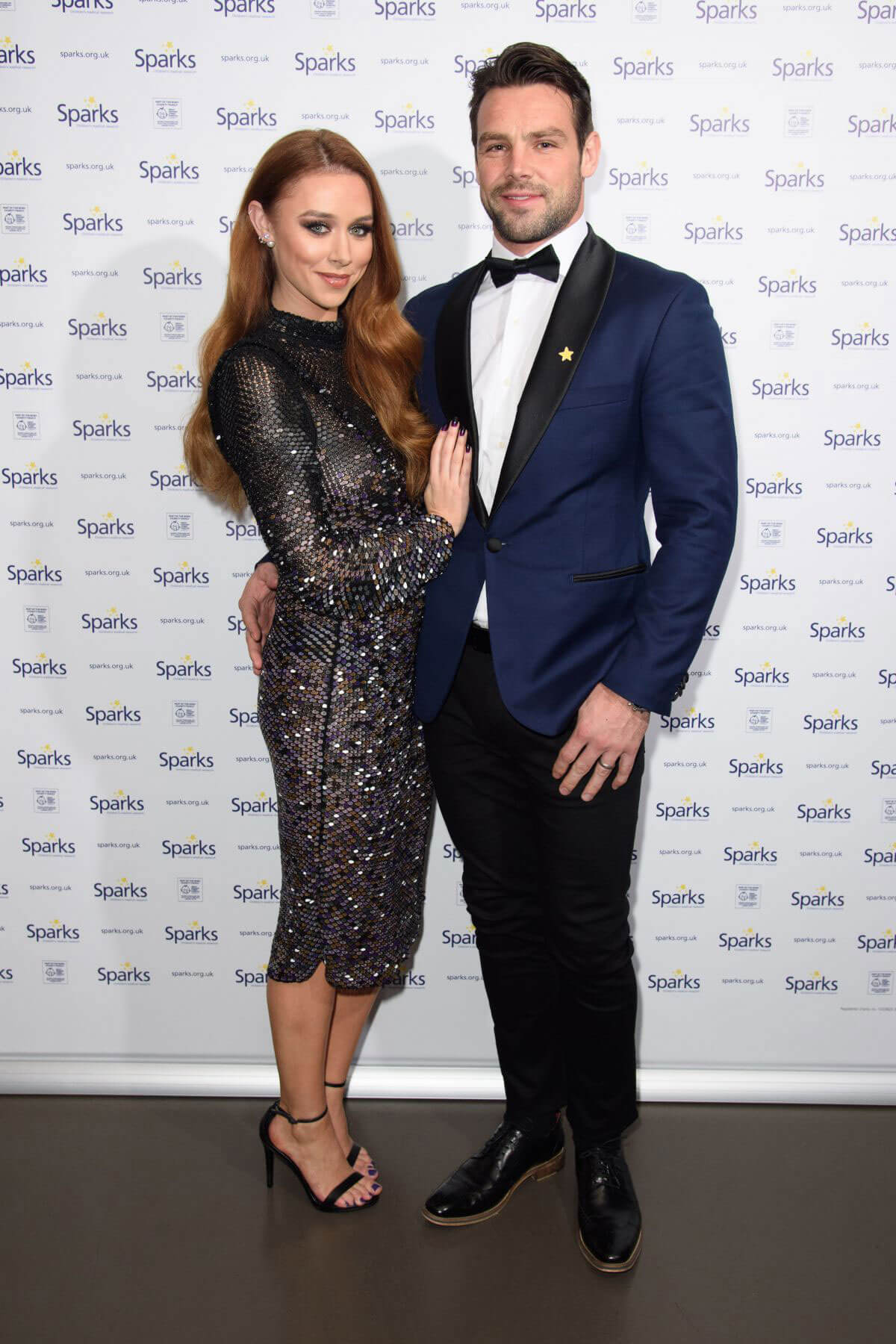 Una Healy Stills at Sparks Winter Ball in London 2017/12/06