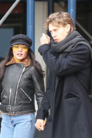 Vanessa Hudgens and Austin Butler Stills Out for Lunch in New York