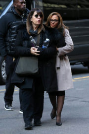 Vanessa Hudgens and Leah Remini Stills on the Set of Second Act in New York