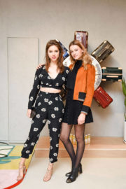 Veronica Zoppolo and Jade de Lavareille Stills at Rimowa x Alexandre Arnault Pop-up Event in Los Angeles 2017/12/12