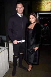 Vicky Pattison and John Noble Stills at Menagerie Bar and Restaurant in Manchester