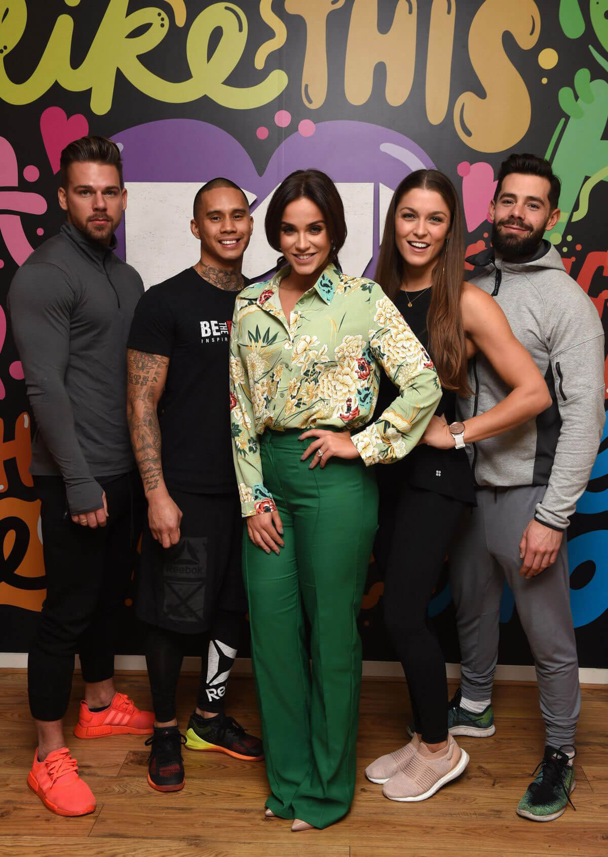 Vicky Pattison Stills at Beach Body Sos TV Show Launch in London 2017/12/12