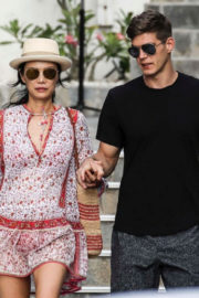 Wendi Deng Murdoch and Bertold Zahoran Stills Out in St. Barth Aboard Roman Abramovich's Eclipse Yacht 2017/12/23