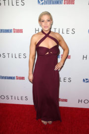 Whitney Bowers Stills at Hostiles Premiere in Los Angeles 2017/12/14