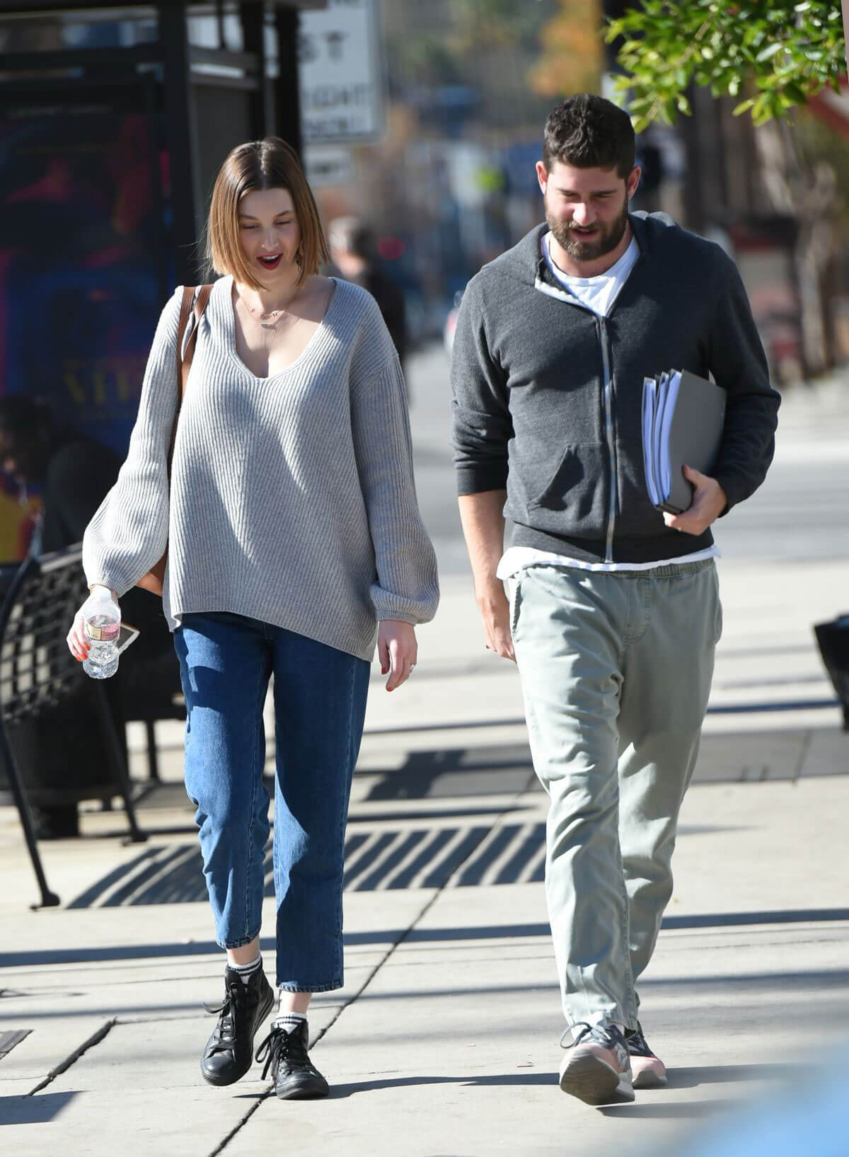 Whitney Port and Tim Rosenman Stills Out in Los Angeles 2017/12/29