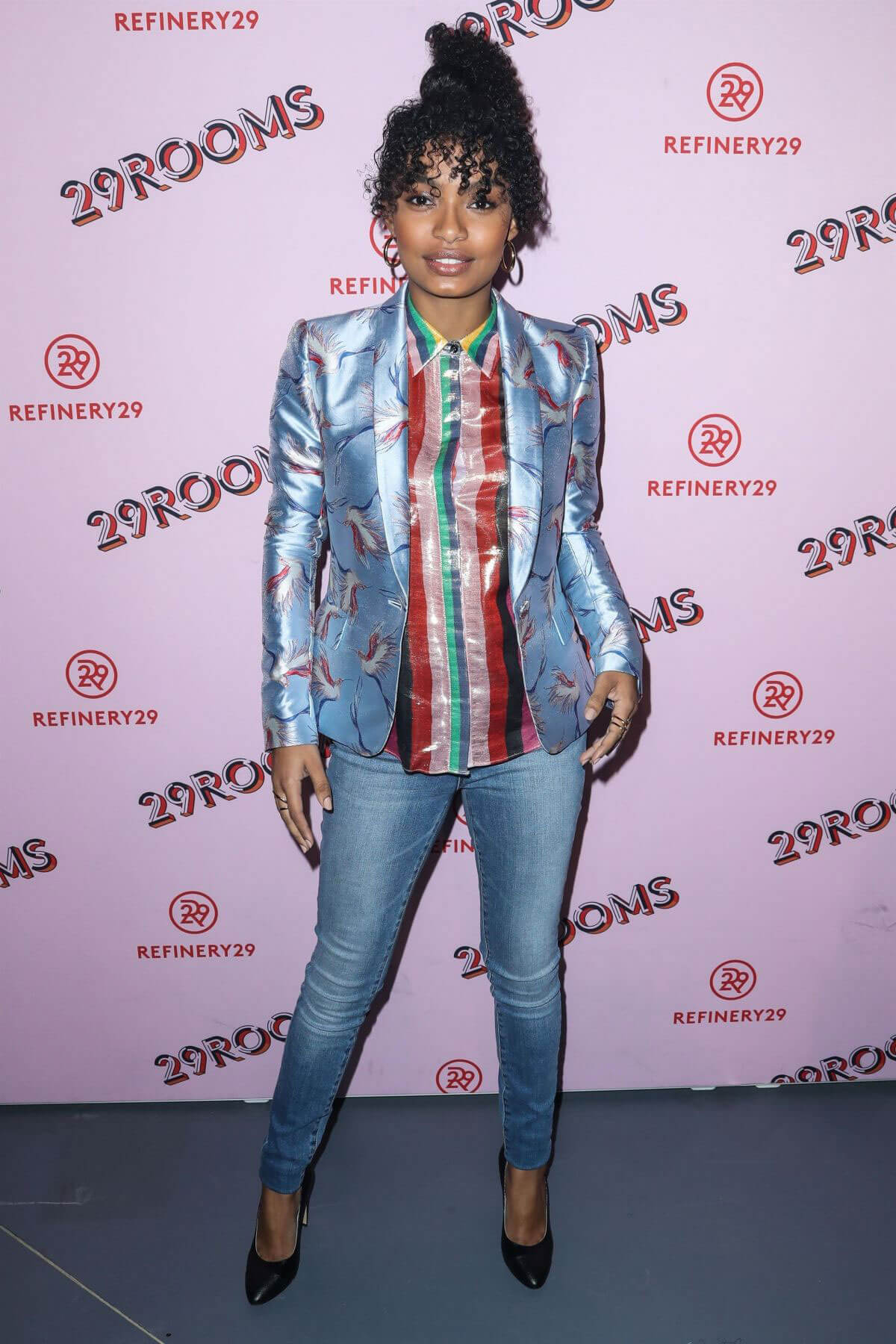 Yara Shahidi Stills at Refinery29 29Rooms Los Angeles: Turn It Into Art Opening Party 2017/12/06