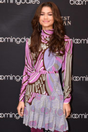 Zendaya Stills at Bloomingdale 59th Street Unveils The Greatest Holiday Windows in New York