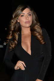 Abigail Clarke Stills Night Out at New Year's Eve in London 2017/12/31