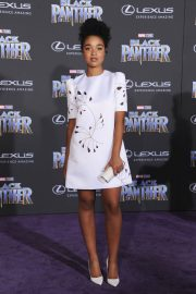 Aisha Dee Stills at Black Panther Premiere in Hollywood 2018/01/29