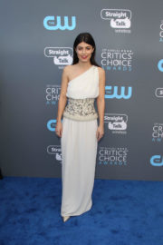Alessandra Mastronardi Stills at 2018 Critics Choice Awards in Santa Monica 2018/01/11