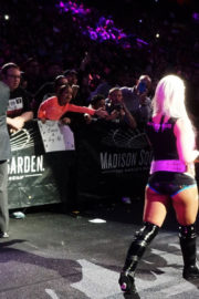 Alexa Bliss Stills at WWE Live Event at Madison Square Garden in New York 2017/12/26