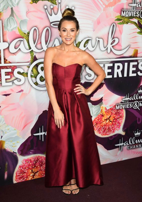 Alexa Vega Stills at Hallmark Channel All-star Party in Los Angeles 2018/01/13
