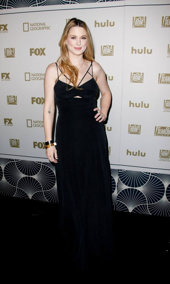 Alexandra Breckenridge Stills at Fox, FX and Hulu 2018 Golden Globe Awards After-party in Beverly Hills 2018/01/07