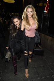 Amber Davies and Olivia Attwood Stills Night Out in Manchester 2018/01/13
