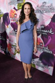 Andie MacDowell Stills at Hallmark Channel All-star Party in Los Angeles 2018/01/13