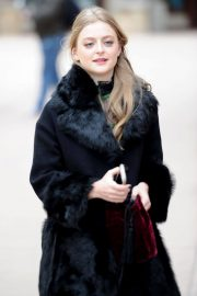 Anna Baryshnikov Stills Out and About in Park City 2018/01/25