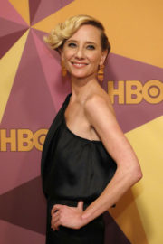 Anne Heche Stills at HBO's Golden Globe Awards After-party in Los Angeles 2018/01/07